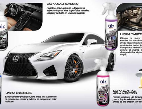 Productos ALZ para limpiar tu coche