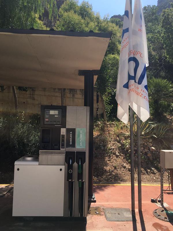 Gasolinera Cortes de Pallás
