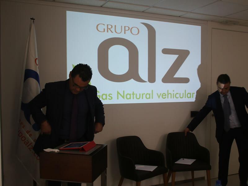 Presentación ALZ sobre gas vehicular