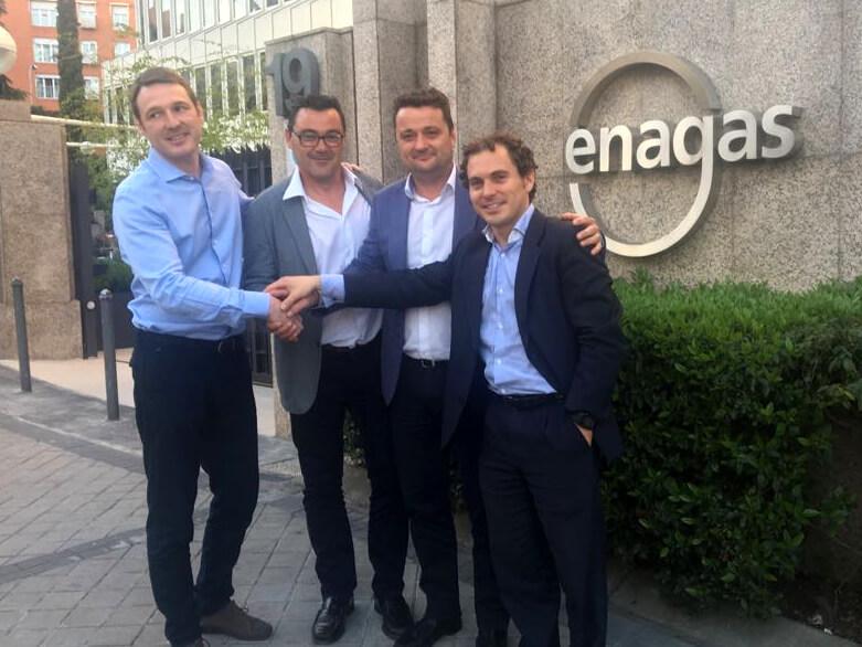 Grupo ALZ y Enagas firman un acuerdo