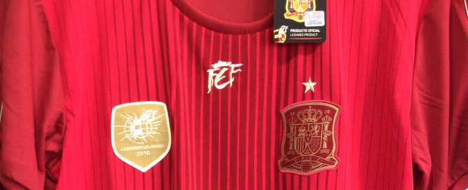Participa en el sorteo de una camiseta de la selección española