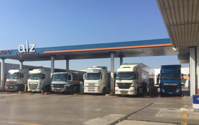 gasolinera GNL y GNC
