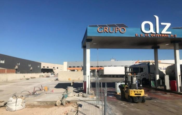 Grupo ALZ evolucion gasolinera GNL y GNC