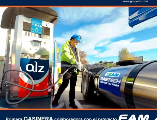 Grupo ALZ estará presente en la Gran Carrera de Camiones de Valencia de este fin de semana para presentar su nueva GasineraGrupo ALZ estará presente en la Gran Carrera de Camiones de Valencia de este fin de semana para presentar su nueva Gasinera