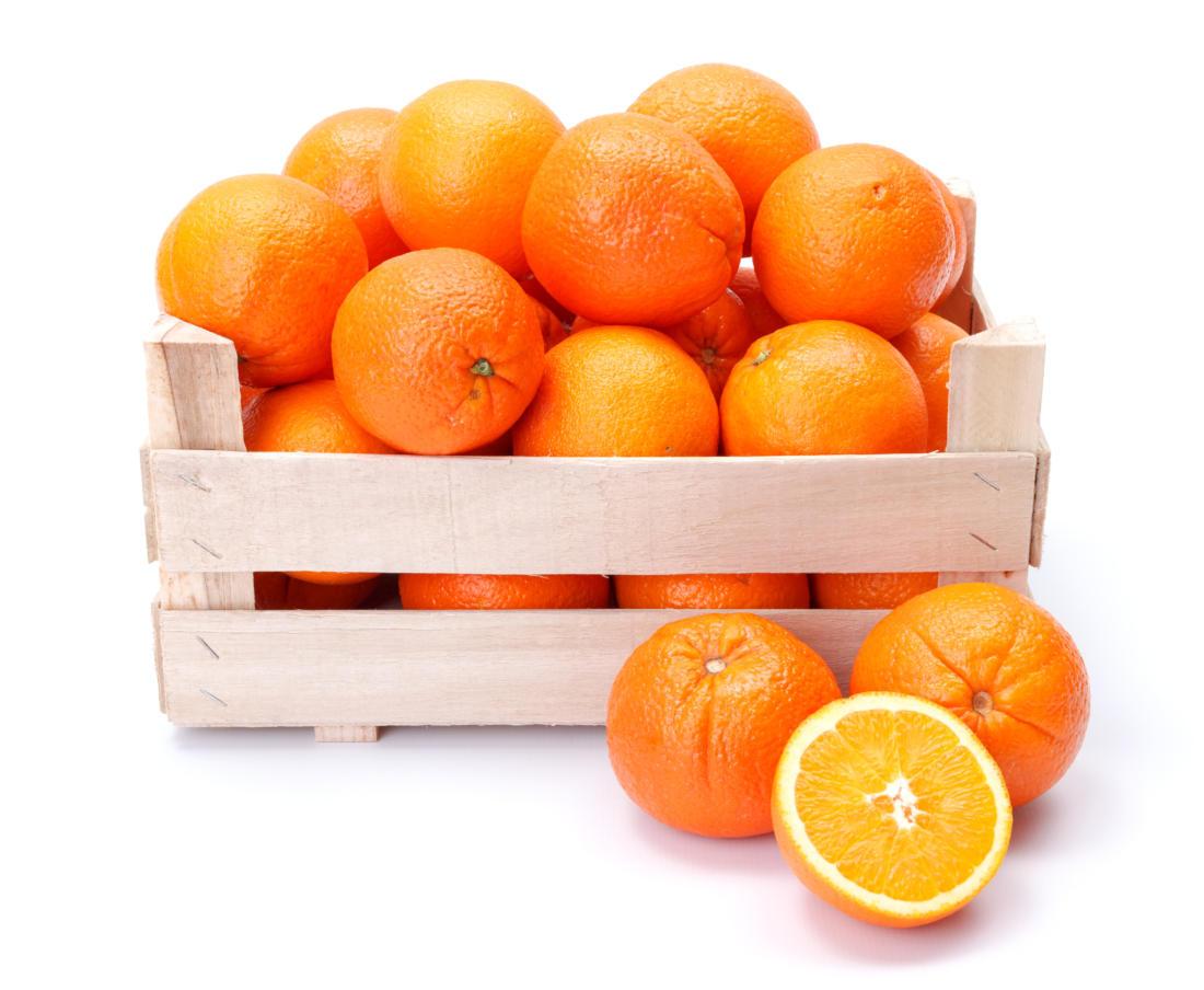naranjas, alimento perfecto para embarazadas